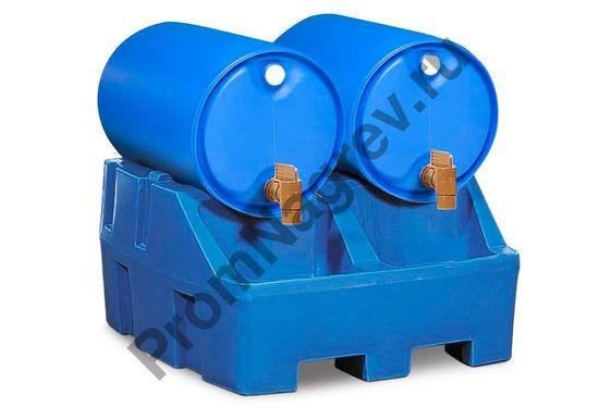 Станция розлива полиэтиленовая Poly Safe на две бочки по 200 литров.