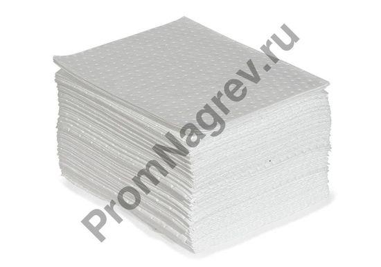 Сто сорбирующих одинарных эконом-салфеток, средней толщины, размерами 40 х 50 см.