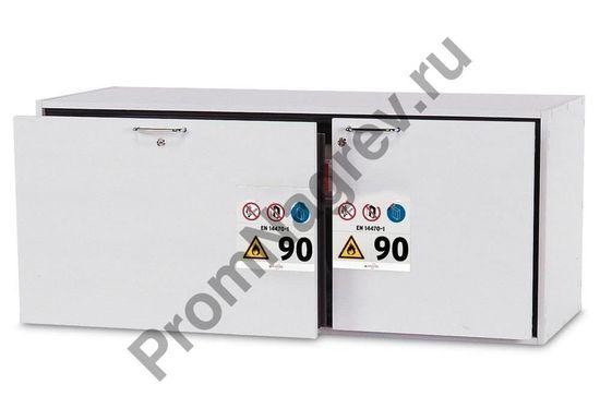 Шкаф с двумя разноразмерными секциями для воспламеняющихся веществ, GU 140.T, тип 90.