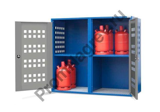 Шкаф для газовых баллонов LB 8, для 8 баллонов по 33 кг