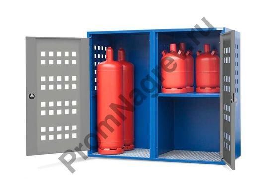 Шкаф для газовых баллонов LB 8, для 8 баллонов по 33 кг или 20 баллонов по 11 кг