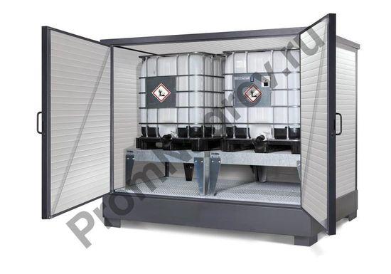 Теплоизолированный контейнер с электроподогревом для морозостойкого хранения опасных веществ и ЛВЖ
