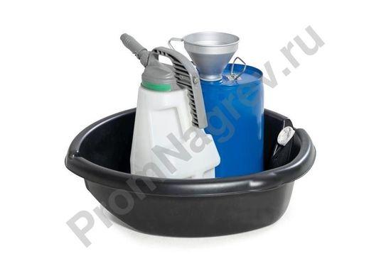 Мобильный поддон на 45 литров для розлива водоопасных веществ и ЛВЖ в ёмкости малого объёма