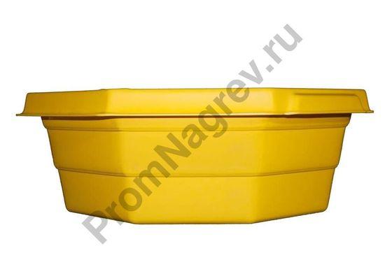 Восьмиугольный поддон для локализации протечек, c держателем для крышек, объём 30 литров