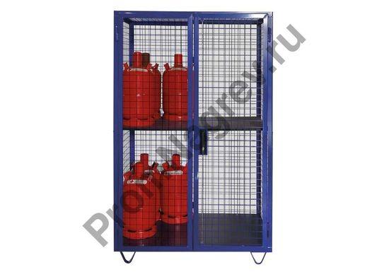 Мобильный шкаф для газовых баллонов GF 8.19