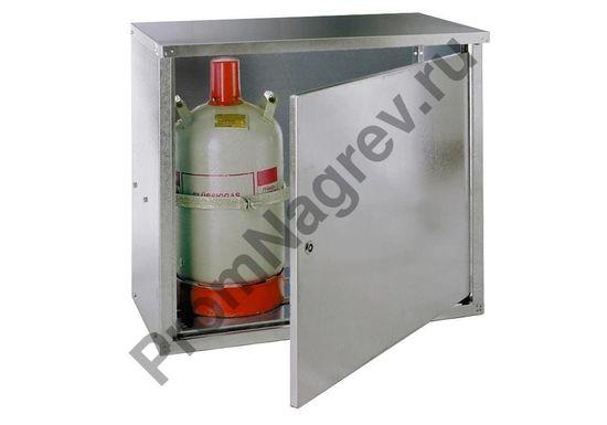Шкаф для баллонов сжиженного газа ST 20, 2 x 11 кг, с закрытой стенкой и одностворчатой дверью