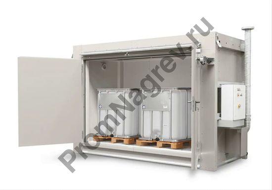 Малый контейнер для опасных легковоспламеняющихся веществ, вместимость - 2 еврокуба (IBC)