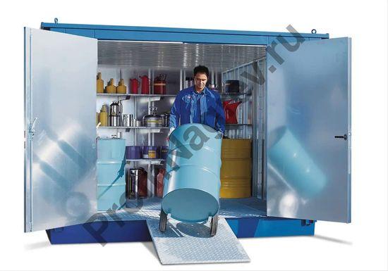 Контейнер-склад для хранения опасных веществ со входом, MCV, площадью 5 квадратных метров