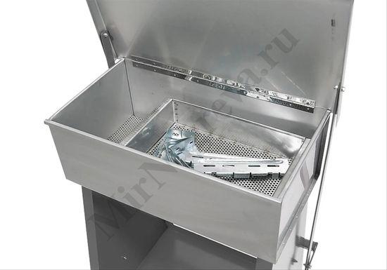 Очиститель деталей с погружным контейнером из нержавеющей стали