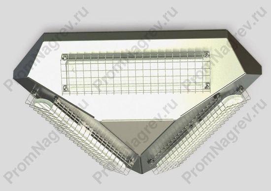 Потолочный инфракрасный обогреватель FS-360 с тремя керамическими греющими элементами