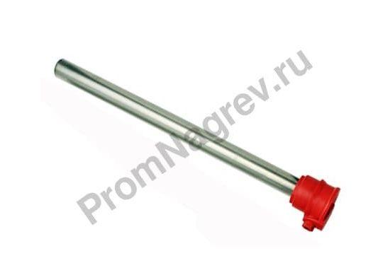 Гальванический нагреватель с защитной трубкой из нержавеющей стали  диаметр 55 мм, мощность 500-3000 Вт, серия GG