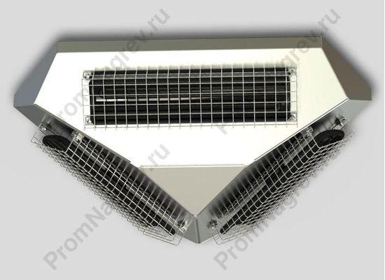 Потолочный инфракрасный обогреватель FS-360 с тремя керамическими ик греющими элементами