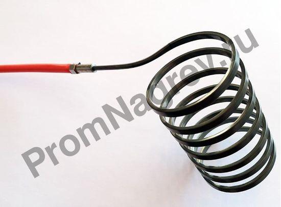 Нагреватель спиральный Hotcoil 2,2*4,2 мм; 230 В/620 Вт; термопара J; навит на диаметр 36 мм, длину 64 мм