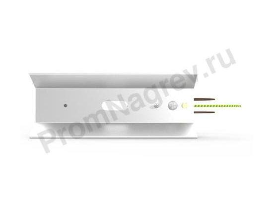 Рефлектор RAS 1 для керамических нагревателей 100x60x254 мм