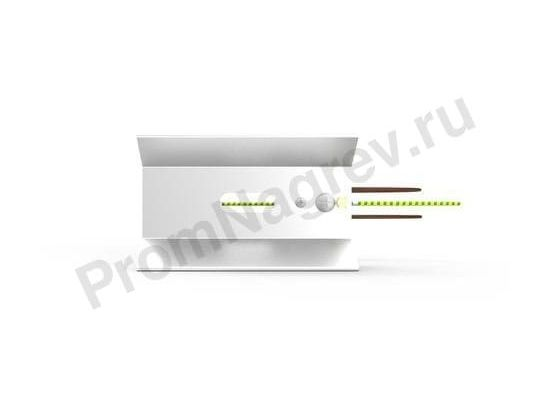 Рефлектор RAS 0,5 для керамических нагревателей 100x60x160 мм