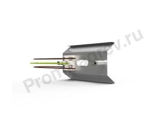 Фото рефлектора RAS 0,5 для керамических нагревателей 100x60x160 мм