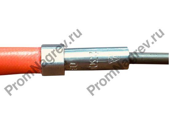 Спиральный нагреватель для нагрева выпускных литников в ГКС сечение 2,2x4,2 мм; 470Вт/230В; с навитием 16x66 мм