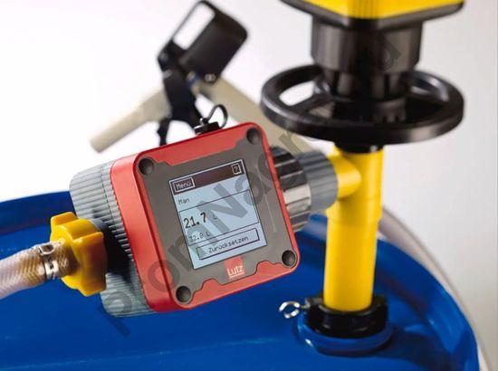 Расходомер проточный для бочковых насосов во взрывозащищённом исполнении