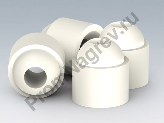 Изолирующие керамические бусы куполообразные