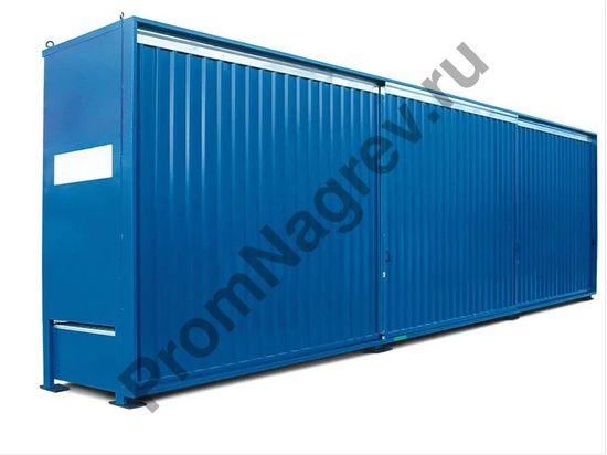 Трехкамерный контейнер под 36 бочек (объемом 200 л).