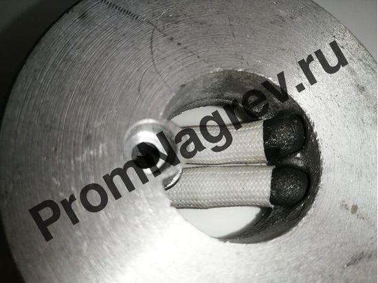 Нагреватель круглый алюминиевый плоский 350 Вт/110 В, внешний диаметр 82 мм