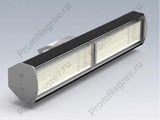 Инфракрасный обогреватель для дома или офиса для настенного монтажа, 2 греющих кварцевых элемента