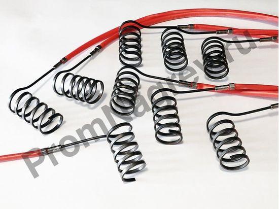 Спиральный тэн Hotcoil сечение 2,2*4,2 мм; 230 В/400 Вт; термопара J; навит на диаметр 30 мм, длину 70 мм