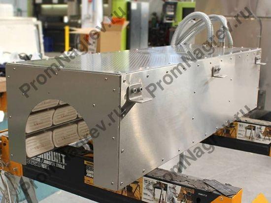 Инфракрасная панель для предварительного нагрева формуемых труб из поливинилхлорида