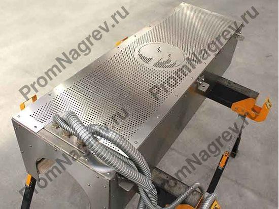 Инфракрасная панель для предварительного нагрева формуемых труб из ПВХ
