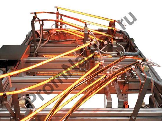 Снфракрасная панель на базе высокотемпературных галогеновых излучателей
