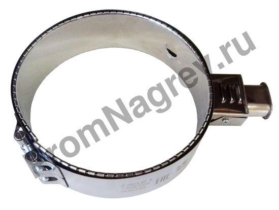 Хомутовый нагреватель миканитовый 1300 Вт/ 230 В, диаметр 200 мм, ширина 60 мм