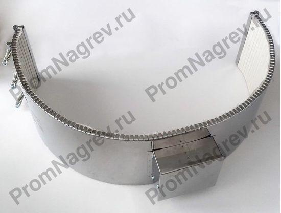 Нагреватель полухомутовый керамический посадочный диаметр 600 мм