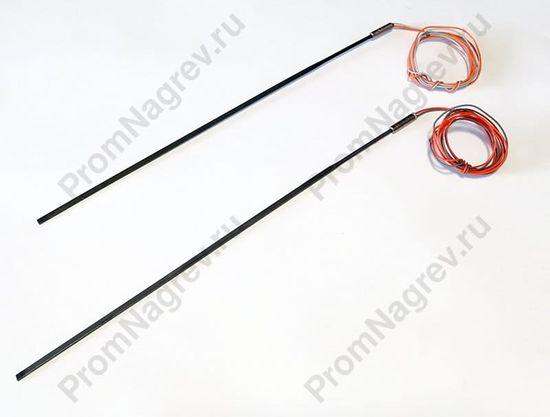Спиральный нагреватель прямой 225 Вт/230 В, сечение 2.2 х 4.2 мм, без термопары