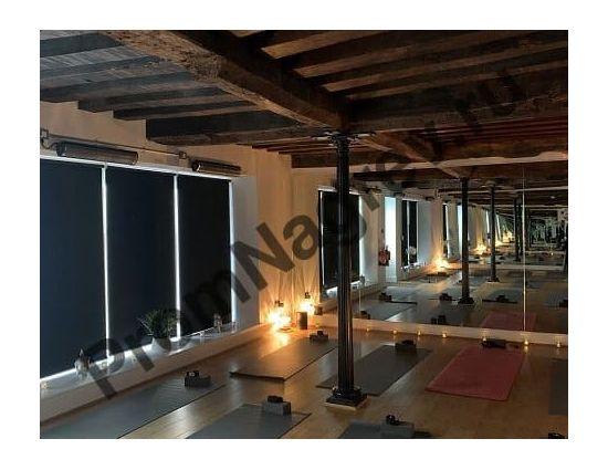 Керамический инфракрасный обогреватель ASPECT XL3 для зала в фитнес-клубе