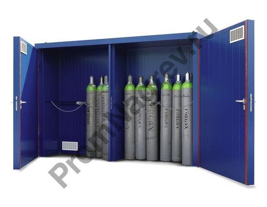 Уличный склад для хранения газовых баллонов GFT 33.9 огнеупорный