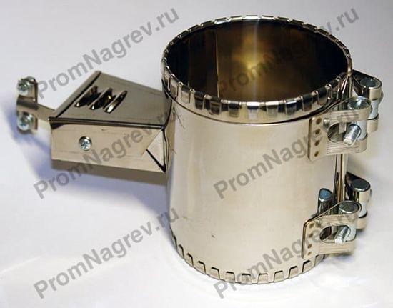 Хомутовый миканитовый нагревательный элемент диаметр 86 мм, ширина 110 мм