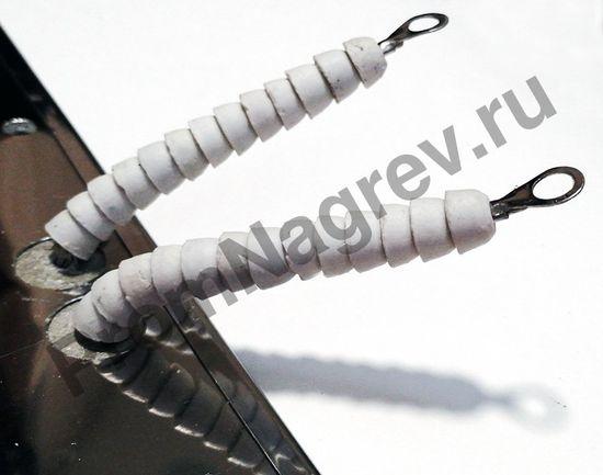 Плоский миканитовый нагревательный элемент в корпусе из нержавеющей стали 450*290 мм, 1500 Вт/230 В