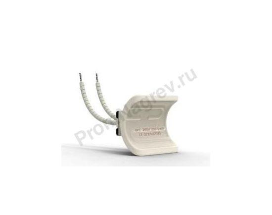 Промышленный ИК нагреватель керамический сферический вогнутый QCE 250 Вт, 60x55x41 мм