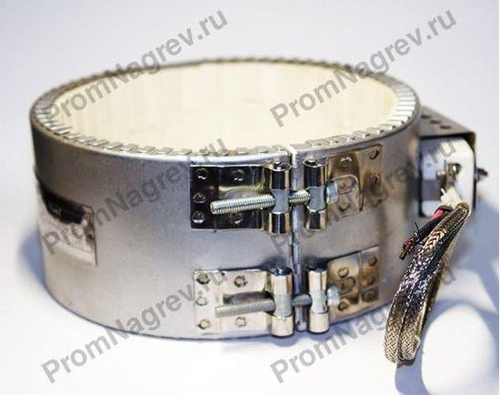 Керамический хомутовый нагреватель, посадочный диаметр 170 мм, ширина 85 мм