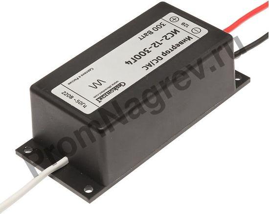 Инвертор ИС2-12-300Г4, преобразователь напряжения DC/AC, 12В/220В, 300Вт