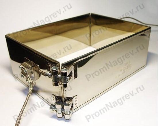 Миканитовый рамочный нагреватель из 2-х нагревательных элементов