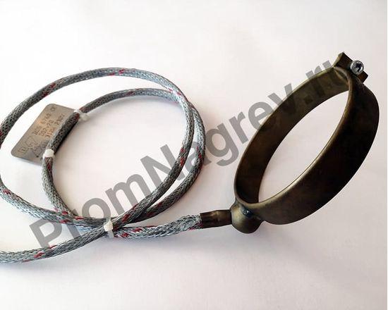 Сопловый нагревательный элемент с корпусом из нержавеющей стали 92 x 20 мм, 310 Вт/ 230 В и проводом под углом 45 градусов