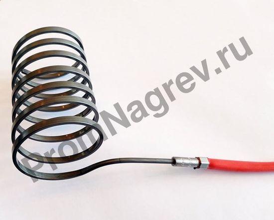 Спиральный ТЭН Hotcoil 2,2*4,2 мм; 230 В/620 Вт; термопара J; навит на диаметр 36 мм, длину 64 мм