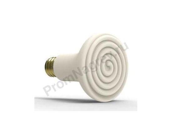 Инфракрасная лампа Эдисона 60 Вт или 100 Вт, ø 80 x 110 мм