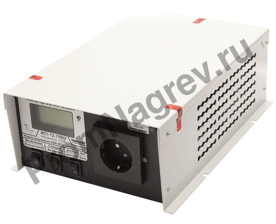 Инвертор, преобразователь напряжения DC/AC, 12В/220В, 1700Вт