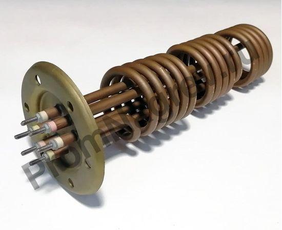Нагреватель на фланце 267-71, диаметр 71, длина 267 мм, шпильки