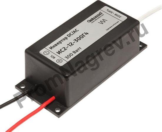 Инвертор ИС2-12-300Г4, преобразователь напряжения DC/AC, 12В/220В