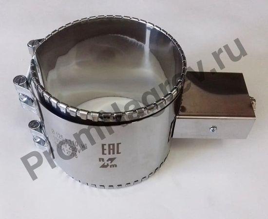 Хомутовый ТЭН миканитовый 1500 Вт/ 230 В, диаметр 125 мм