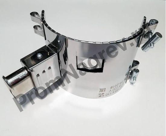 Полукольцевой  нагреватель миканитовый 600 Вт/230 В, диаметр 135 мм, ширина 110 мм