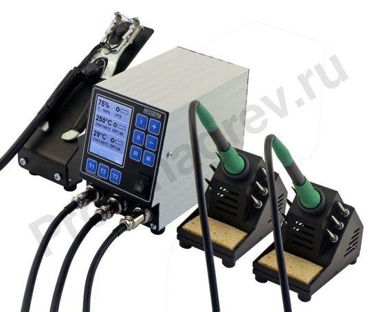 Интеллектуальная трехканальная паяльная станция НеоТерм-3Т